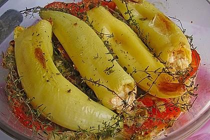 Türkische Paprika aus dem Backofen - sehr knackig 2
