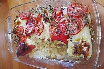 Türkische Paprika aus dem Backofen - sehr knackig 57