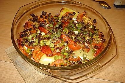 Türkische Paprika aus dem Backofen - sehr knackig 55