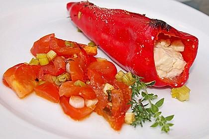 Türkische Paprika aus dem Backofen - sehr knackig 17