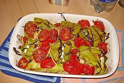 Türkische Paprika aus dem Backofen - sehr knackig 31