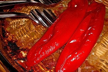 Türkische Paprika aus dem Backofen - sehr knackig 26