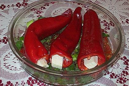 Türkische Paprika aus dem Backofen - sehr knackig 15