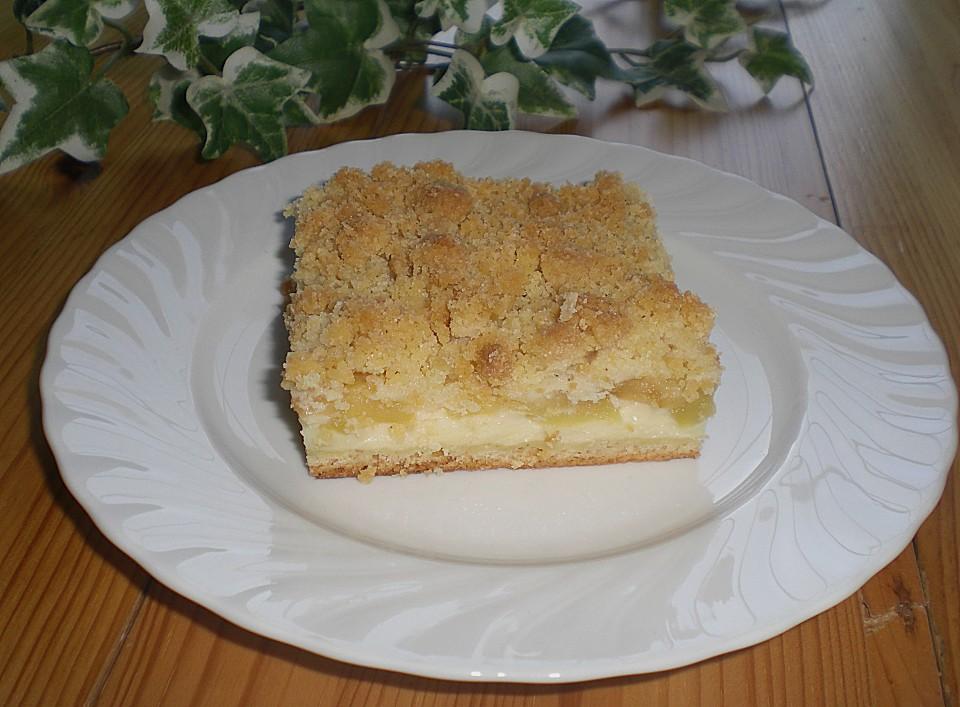 apfelkuchen mit pudding rezept mit bild von 2sandemone2. Black Bedroom Furniture Sets. Home Design Ideas