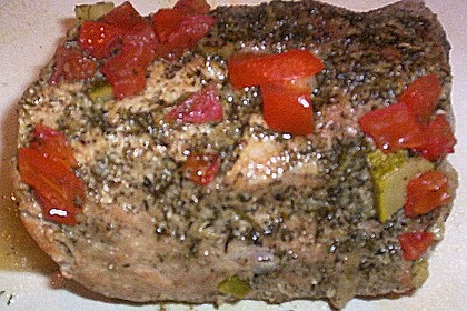Aromatischer Schweinebraten mit mediterranem Gemüse 1