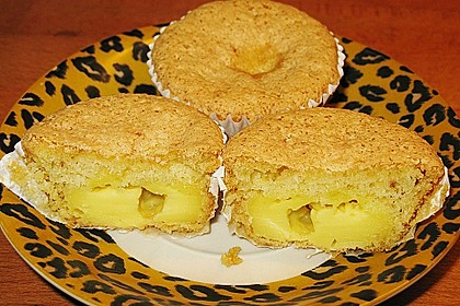Vanille - Muffins mit Füllung