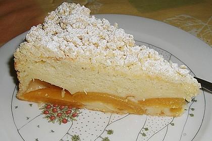 Marillen (Aprikosen) - Rahmkuchen mit feinen Streuseln 7