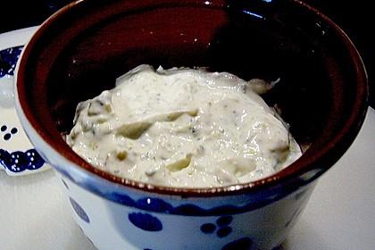 Einfacher Gänseblümchen - Käse - Brotaufstrich 1