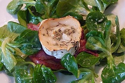 Gudruns Apfel - Speck - Ziegenkäse Türmchen mit Honig und Thymian 32