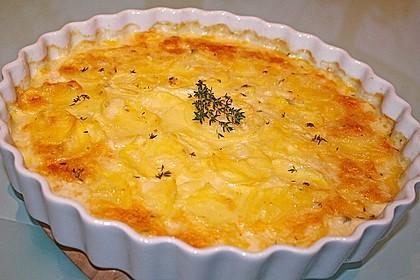 Kartoffelgratin mit frischem Thymian 1