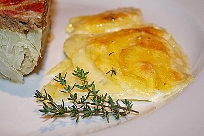 Kartoffelgratin mit frischem Thymian 3