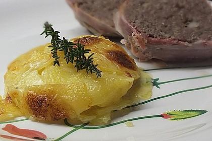 Kartoffelgratin mit frischem Thymian 2