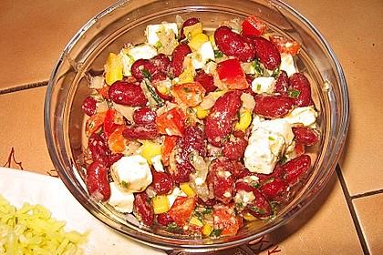 Rote Bohnen - Schafskäse - Salat 15