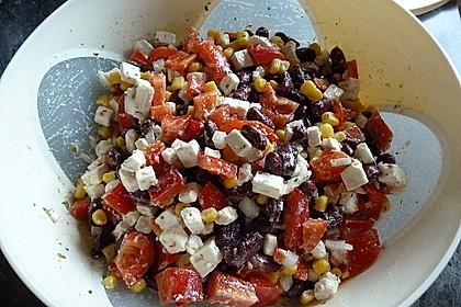 Rote Bohnen - Schafskäse - Salat 5