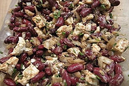 Rote Bohnen - Schafskäse - Salat 13
