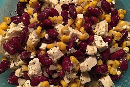 Rote Bohnen - Schafskäse - Salat 4
