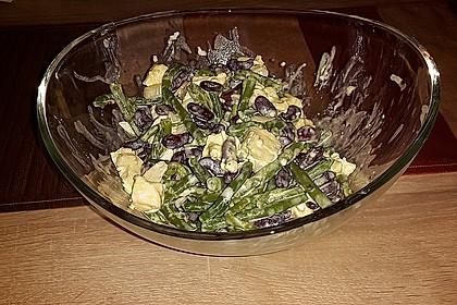 Rote Bohnen - Schafskäse - Salat 18