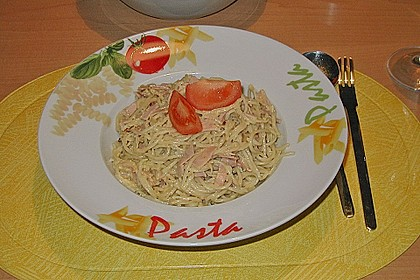 Koelkasts Spaghetti Carbonara 136