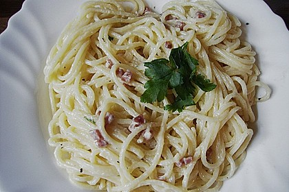 Koelkasts Spaghetti Carbonara 48