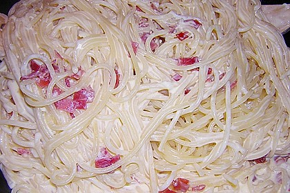 Koelkasts Spaghetti Carbonara 173