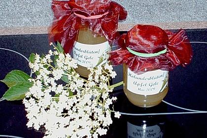 Holunderblüten - Gelee 1