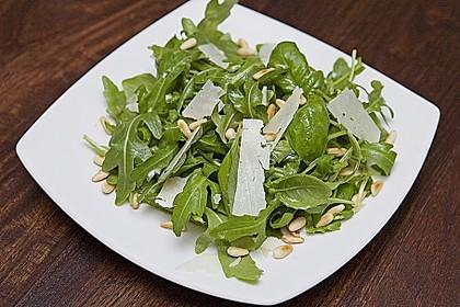 Basilikum – Rucola – Salat 0