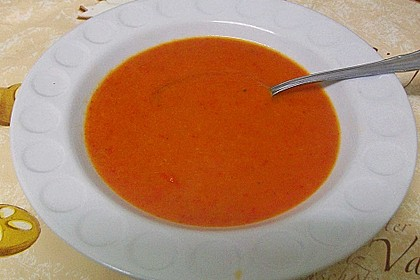 Apfel - Paprika - Suppe 9
