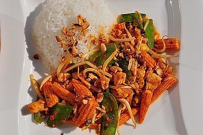 Hähnchen - Erdnuss - Curry