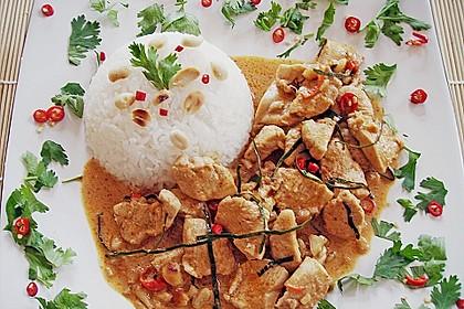 Hähnchen - Erdnuss - Curry 1