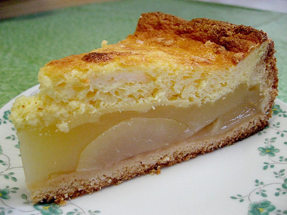 Birnenkuchen Mit Pudding Und Schmand Vihezir Over Blog Com
