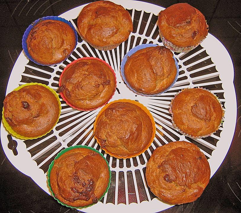 bananen walnuss muffins rezept mit bild von katarzynski. Black Bedroom Furniture Sets. Home Design Ideas