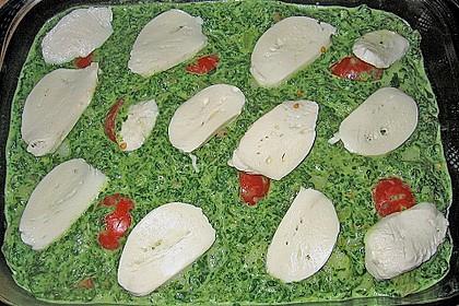 Gnocchiauflauf mit Spinat und Cherrytomaten 20