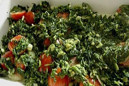 Gnocchiauflauf mit Spinat und Cherrytomaten 37