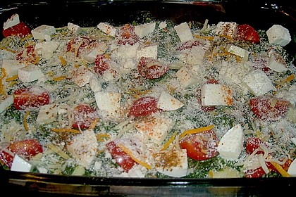 Gnocchiauflauf mit Spinat und Cherrytomaten 27