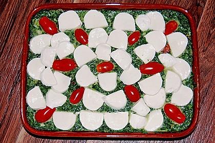 Gnocchiauflauf mit Spinat und Cherrytomaten 28