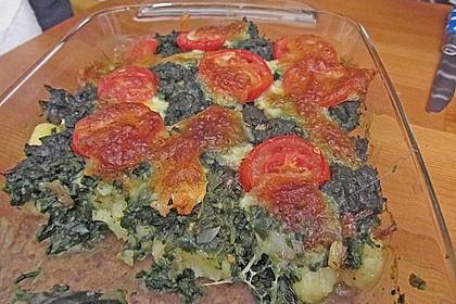 Gnocchiauflauf mit Spinat und Cherrytomaten 36