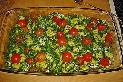 Gnocchiauflauf mit Spinat und Cherrytomaten 2