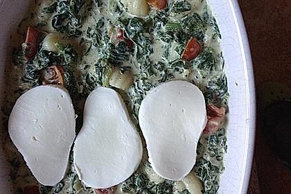Gnocchiauflauf mit Spinat und Cherrytomaten 15