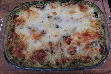 Gnocchiauflauf mit Spinat und Cherrytomaten 16