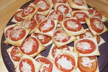 Blätterteig - Tomaten - Quadrate 194