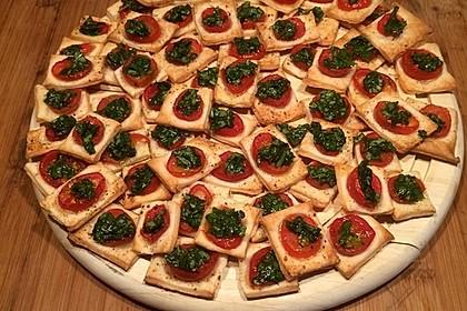 Blätterteig - Tomaten - Quadrate 109