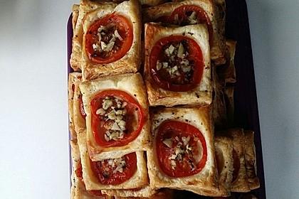Blätterteig - Tomaten - Quadrate 122