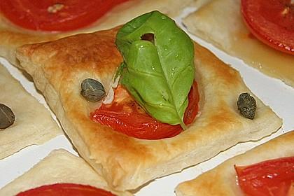 Blätterteig - Tomaten - Quadrate 38