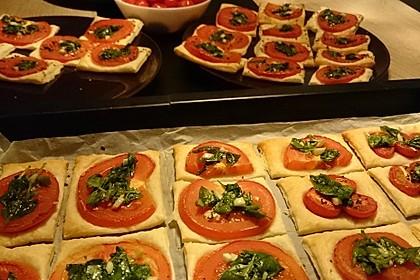 Blätterteig - Tomaten - Quadrate 127