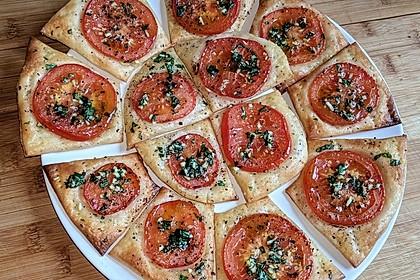 Blätterteig - Tomaten - Quadrate 118