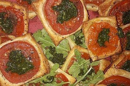 Blätterteig - Tomaten - Quadrate 57