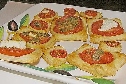 Blätterteig - Tomaten - Quadrate 179