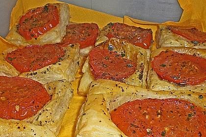 Blätterteig - Tomaten - Quadrate 232