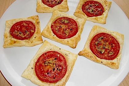 Blätterteig - Tomaten - Quadrate 63