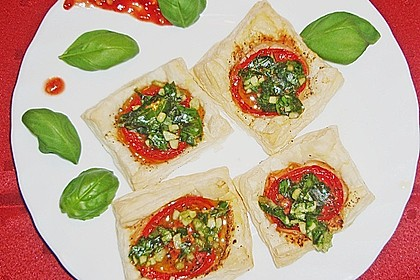 Blätterteig - Tomaten - Quadrate 213